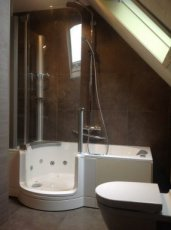 combinatie bad en douche combinatie bad en douche